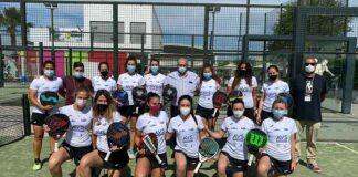 Componentes del equipo AVS La Volea, que peleará por el ascenso en el Campeonato en Manacor.