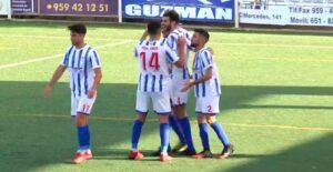 Dani Pérez cerró la cuenta goleadora del Bollullos ante el Torreblanca. / Foto: Captura imagen RFAF TV.