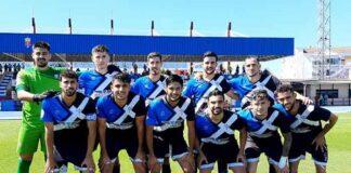 Formación inicial del Bollullos en su partido de este domingo en el Felipe del Valle, donde amarró un empate. / Foto: @bollulloscf1933.