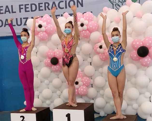 Las gimnastas del Rítmico Colombino sigue cosechando éxitos en los torneos en los que participa.