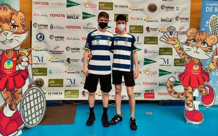 Álvaro Morán y Rubén Carreras han brillado en el torneo celebrado en Benalmádena.