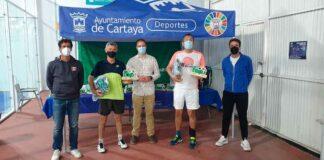 La pareja Fernando Carrasco-Victor Morian fue quien ganó en categoría Absoluta la prueba celebrada en Cartaya del Circuito Bronce Head 2021 de pádel.