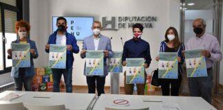 Un momento de la presentación en la Diputación Provincial del XXII Campeonato de Andalucía de Atletismo Adaptado que tendrá lugar en Punta Umbría este fin de semana.