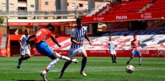 Último partido en la Segunda B para el Recreativo de Huelva. / Foto: @CanteraNazari.