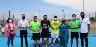 Un total de 46 deportistas tomaron parte en el VIII Open de Tenis de Cartaya.