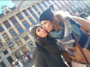 Maria de las Mercedes Delgado Hispano se fue a Bélgica a vivir con su pareja./ Facebook