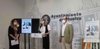 Un momento de la presentación de la Concentración de la selección andaluza de Parabádminton y de las I Jornadas de Puertas Abiertas de Bádminton Inclusivo.