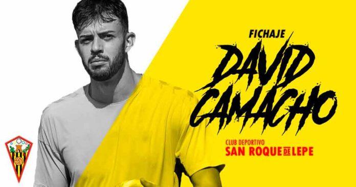 El lepero David Camacho vuelve a 'casa' para jugar en el San Roque. / Foto: @SanRoqueLepe.