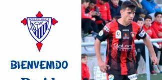El delantero David Ordóñez, primer fichaje que hace oficial el Bollullos. / Foto: @bollulloscf1933.
