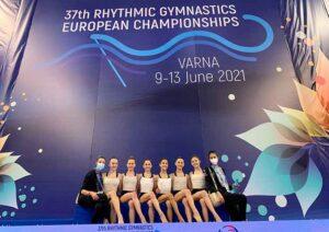 La selección española de gimnasia rítmica ya está preparada para afrontar el Europeo.
