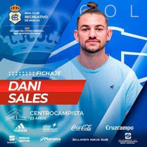 Dani Sales es el noveno fichaje que hace oficial el Recreativo. / Foto: @recreoficial.