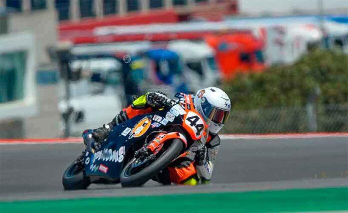 Enorme dolor tras el fallecimiento de Hugo Millán en un accidente en el circuito de Aragón.