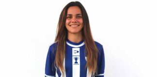 "Nerea Ontiveros se define como entrenadora ""trabajadora, incansable e inconformista"". / Foto: @sportinghuelva."