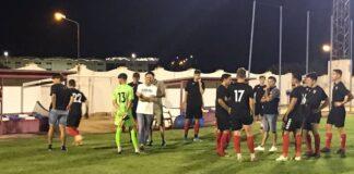 Empezar la Liga con un marcador positivo en Rota, el objetivo del Cartaya. / Foto: @AD_Cartaya.