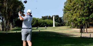 Éxito del Torneo de Golf 'Delicatesen Merkajamon' en Ayamonte que contó con una alta participación. / Foto: J. L. Rúa.