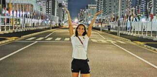 Laura García-Caro será homenajeada este jueves por el Ayuntamiento de Lepe tras su paso por Tokio 2020. / Foto: @lauriiatl.