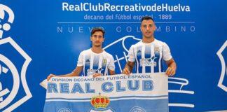 Perotti y Chendo Alarcón fueron presentados como nuevos jugadores del Decano. / Foto: @Franlvarez / @recreoficial.