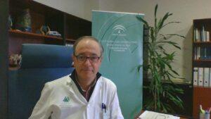 Antonio Ortega Carpio, médico de familia y gerente del Distrito Sanitario Huelva-Costa y Condado-Campiña
