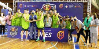 El equipo de Andalucía conquistó el título en la categoría Cadete masculina.