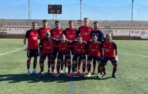 El Ayamonte comenzó la Liga con un gran triunfo ante el Egabrense. / Foto: @ayamonte_cf.