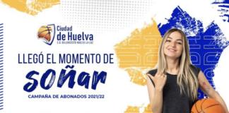 Cartel de la campaña de abonados del Ciudad de Huelva. / Foto: @CiudadDeHuelva.