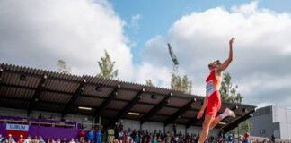 Héctor Santos, saltador de longitud