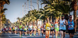 Alrededor de 1.000 corredores se esperan en la tercera edición de la 10K Huelva 'Puerta del Descubrimiento'. / Foto: Óscar García / www.10khuelva.es.