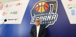 José Luis Pena, vicepresidente de la Federación Andaluza de Baloncesto (FAB) y delegado de la misma en Huelva.