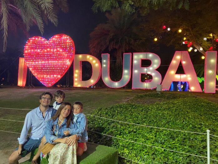 Jose Antonio Ahumada en Dubai