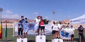El Asirio firmó un pleno en el podio en arco recurvo en el XXI Campeonato de Andalucía de Clubes por Equipos de Tiro con Arco.