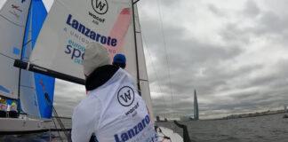 El 'Lanzarote-Wacaf Air' cerró quinto la primera jornada de la segunda semifinal de la Sailing Champions League, a sólo dos puntos del líder, el ruso 'Calypso'.