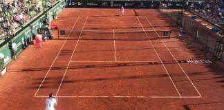 Feliciano López, tras vencer a Álvaro López, primer finalista de la 96ª Copa del Rey de Tenis. / Foto: F. O.