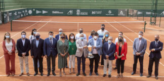 Presentada la 96 edición de la Copa del Rey de Tenis que se disputa el viernes y el sábado. / Foto: @AytoHuelva.