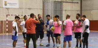 El Villalba FS ultima detalles para arrancar la Liga en el feudo del Smurfit Kappa. / Foto: @CDVillalbaFS.