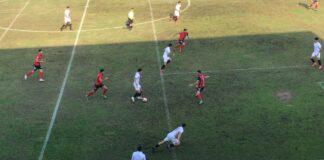 Cartaya y Sevilla C protagonizaron un partido que pudo ganar cualquiera de los dos. / Foto: F. O.