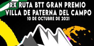 Cartel de la XX Ruta Ciclista BTT Gran Premio 'Villa de Paterna' de este domingo.