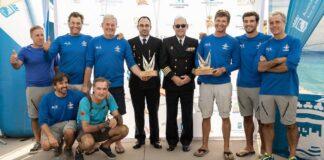La embarcación 'De 6', de la Asociación Deportiva Canaleta, fue la ganadora en Málaga.