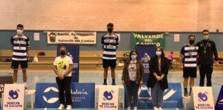 Pleno en el podio del IES La Orden en el individual masculino del Trofeo Andalucía en Valverde del Camino.