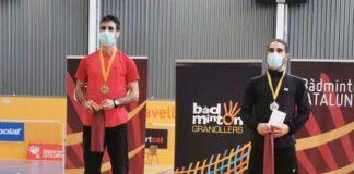 Pablo Abián logró el oro en el cuadro individual del Máster Absoluto de Bádminton en Granollers.