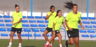 El Sporting se entrenará este jueves en el campo de Pérez Cubillas y el viernes lo hará en La Orden. / Foto: @sportinghuelva.