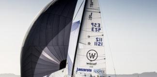 El equipo de Lanzarote, con Ricardo Terrades, ya participó el año pasado en la Sailing Champions League logrando un 6º puesto que intentarán mejorar. / Foto: María Muiña.
