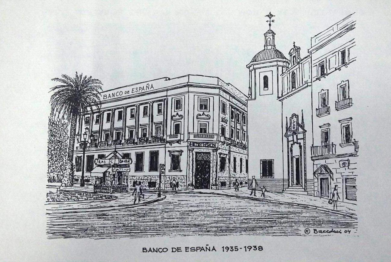 BANCO DE ESPAÑA BACEDONI