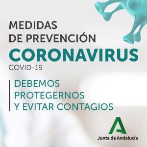 Junta de Andalucía coranovirus